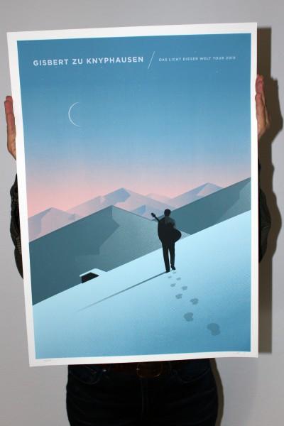 Gisbert zu Knyphausen - Das Licht dieser Welt - Siebdruck Poster