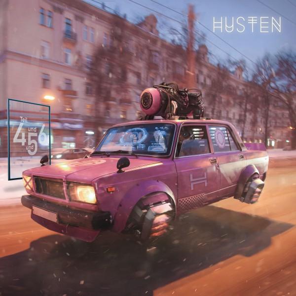"Husten - Teil 4 & 5 & 6 - Vinyl EP 12"""