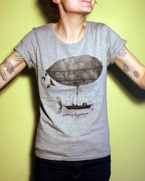 Gisbert zu Knyphausen - Luftschiff grau - Shirt